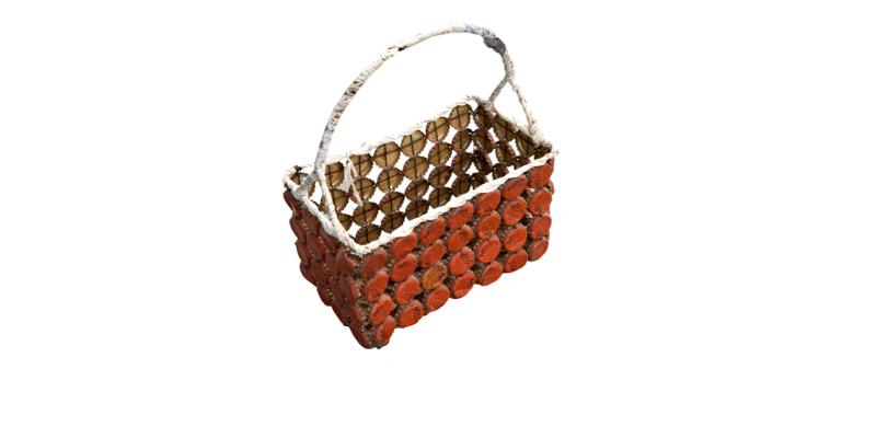 Basket mede of litter
