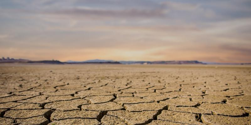 dry earth landscape