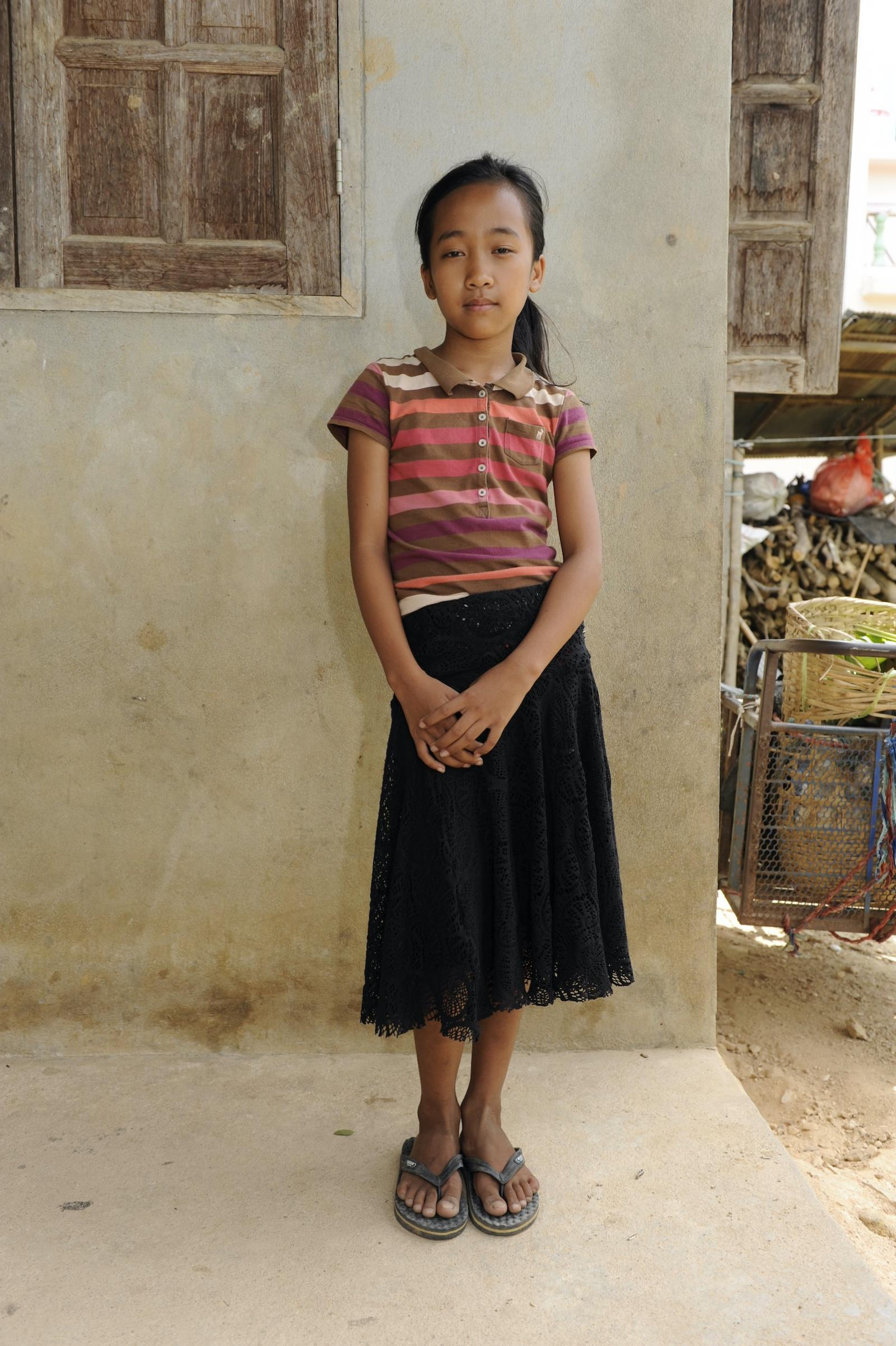 Girl in Myanmar