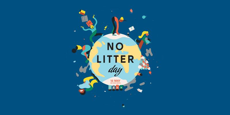 No LItter Day iilustration