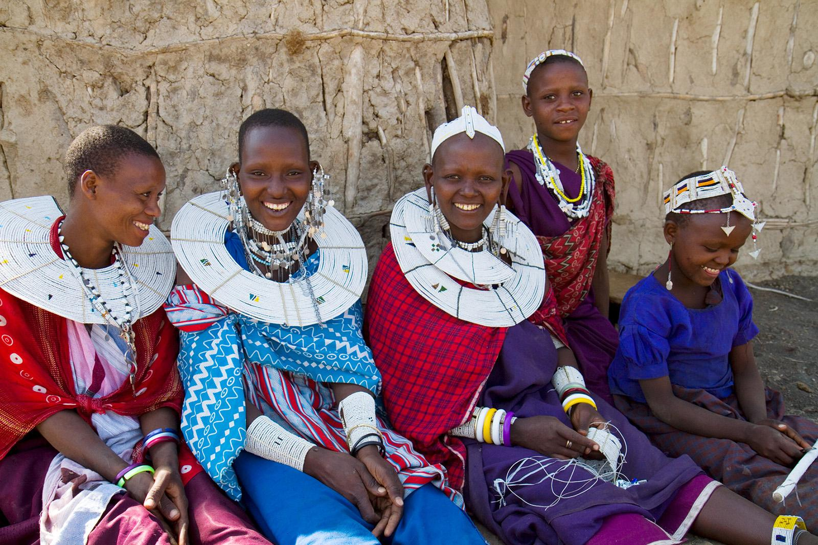Masaai Girls